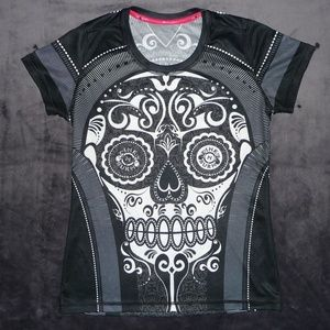 NWOT InkNBurn SOLD OUT VIntage Sugar Skull Tee